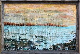 """Western Lake"" 36x24"" https://www.etsy.com/listing/483292058/western-lake-36x24-with-barnwood-frame"